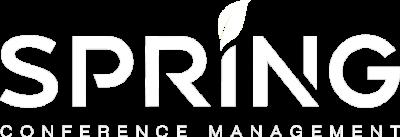 Spring logo wit met ondertitel